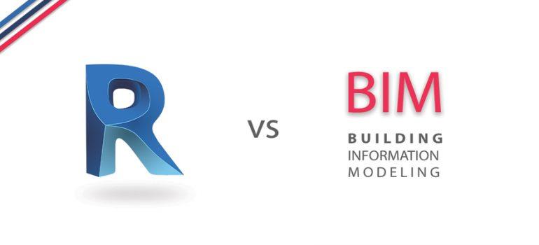 تفاوت بین bim و Revit